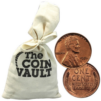 3 lb bag of Lincoln wheat Cents