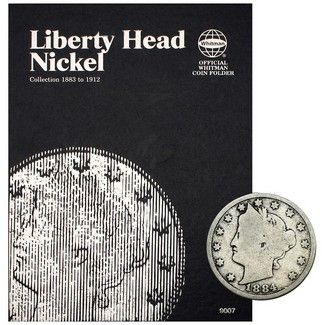 1883-1912 Liberty Nickel Complete 30 Coin Set in Tri Fold Album