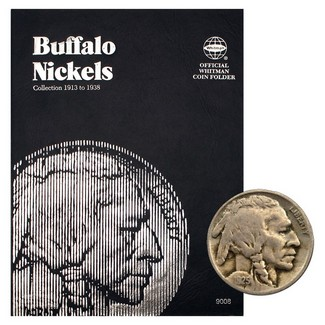 1913-1938 Buffalo Nickel Set in Tri Fold Album