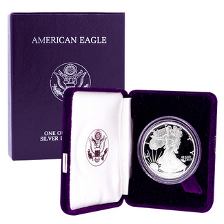 1994 P Proof Silver Eagle OGP