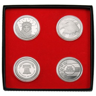 Custom Minted Silver Special (4 Count)