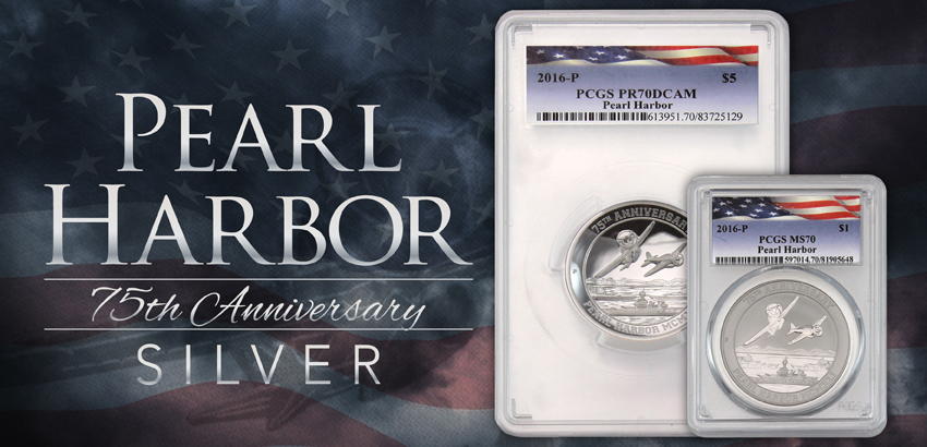 2016 Pearl Harbor Silver Options