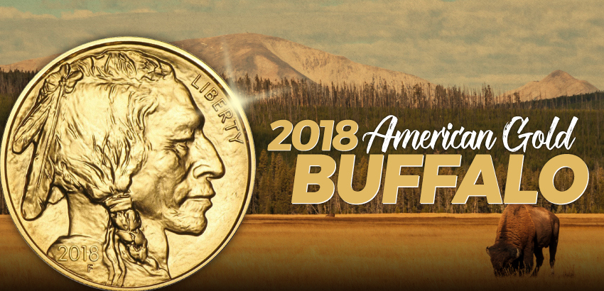 Certified 2018 Gold Buffalo Coins