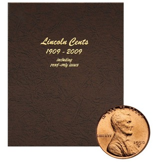 1909-2009 Lincoln Deluxe Cent Set in Dansco Album