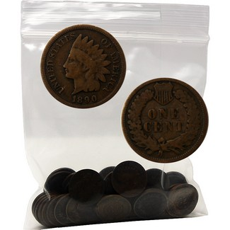 Classic Collection: Indian Cent Bag of 50 Coins