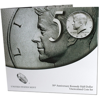 2014 Kennedy Half Dollar 2-Coin BU Set in OGP