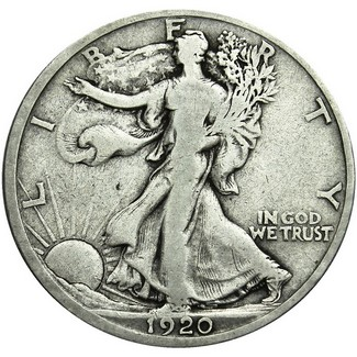 20 Different Walking Liberty Halves