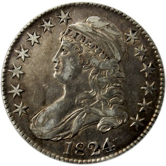 Capped Bust Half Dollar (1807-1839) Average Circulated Condition
