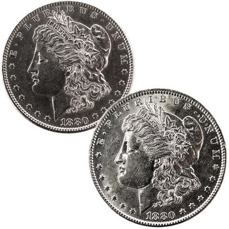 1880-O Morgan Dollar Combo Part 2
