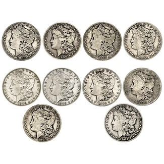 The Palmetto State Hoard: Morgan Silver Dollars (part 6)