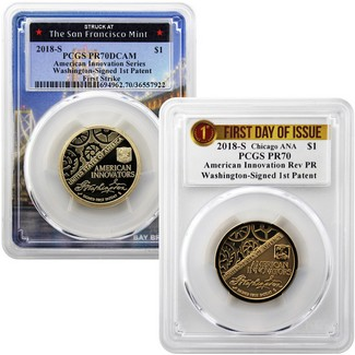 2018 American Innovation Dollar PCGS Proof Perfection
