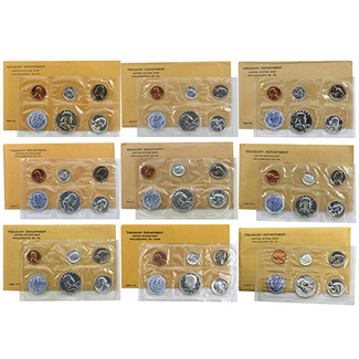 1955 - 1964 Proof Sets
