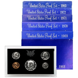 Blue Box Proof Sets