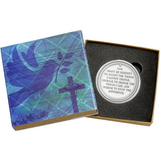 Serenity Prayer 1 Ounce .999 Silver Round