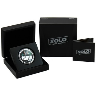 2018 $2 Solo: A Star Wars Story 1oz Silver Coin in OGP