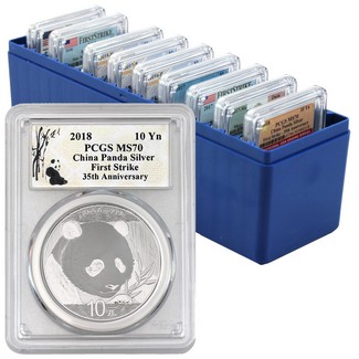 The Coin Vault 30th Anniversary PCGS MS70 Silver Bonanza