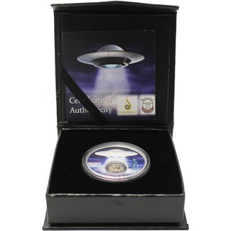 2020 $1 .999 1oz Silver Area 51 Coin