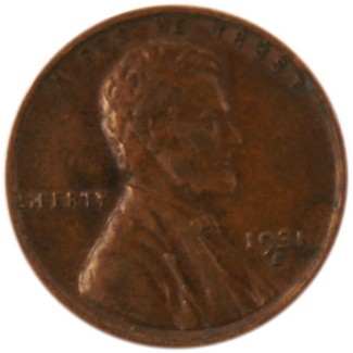 1931 S Lincoln Wheat Cent Average Circulated Condition