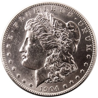 1904-O Morgan Dollar Brilliant Uncirculated