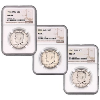 Kennedy (Special Mint Set) Trio NGC MS-67